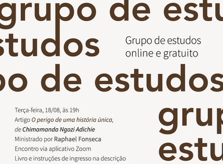 Grupo de estudos #20: Chimamanda Ngozi Adichie com Raphael Fonseca