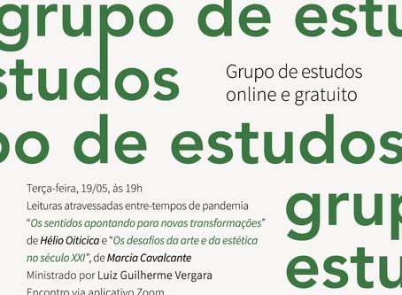 Grupo de Estudos #7: Hélio Oiticica e Marcia Cavalcante com Luiz Guilherme Vergara