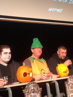 Bushtucker Halloween party antics