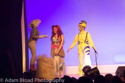 Ariel meets her friends.