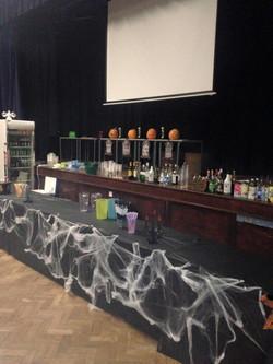 Halloween Party bar