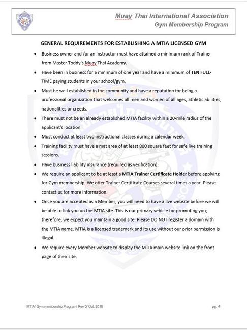 Page 4 - M.T.I.A Gym Membership Program.