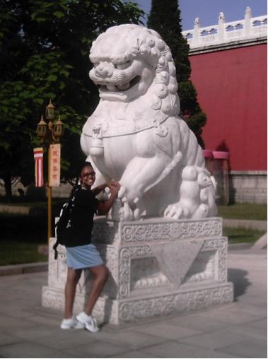 Raina outside Chinese Temple.jpg