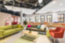 Фотография на модерен интериорен дизайн на офис