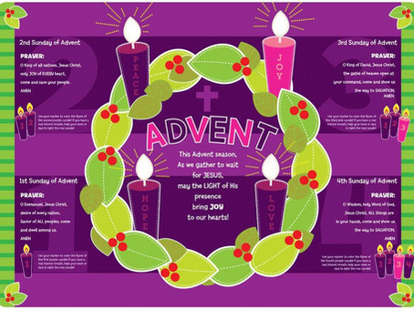 Learn about the symbols and prayers of the Advent Wreath