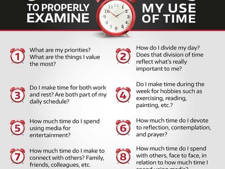 How do I use my time?