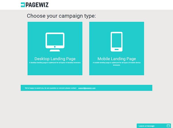 PageWiz Dashboard