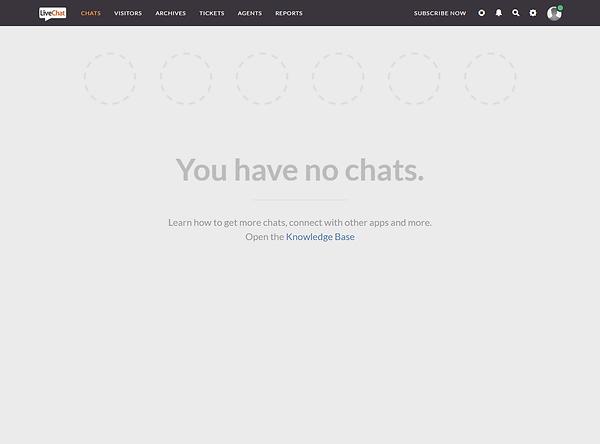 LiveChatInc Dashboard