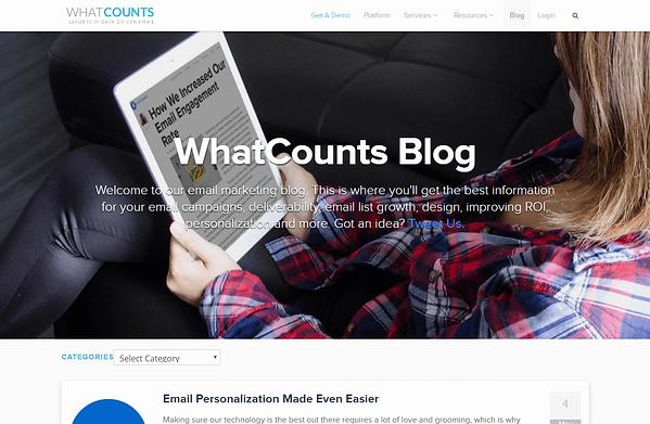 WhatCounts Blog