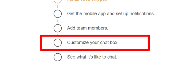 Website Chat Customization