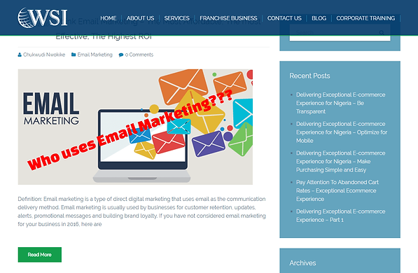 Who Uses Email Marketing