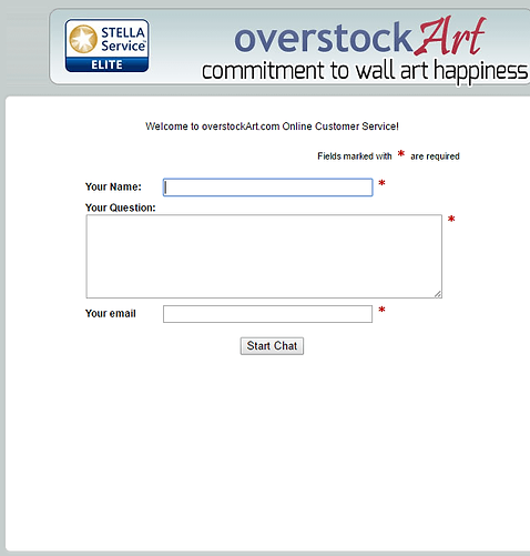 Overstock Art Chat