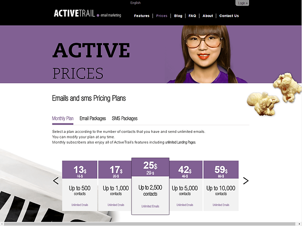 Activetrail Pricing