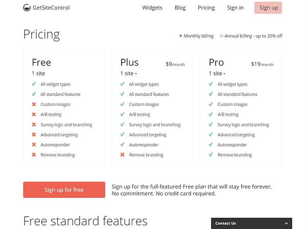 Get Site Control Pricing