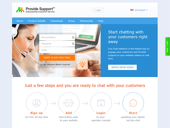 ProvideSupport