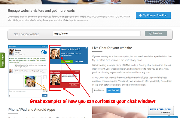 Customize Livechat