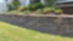 block retaining wall