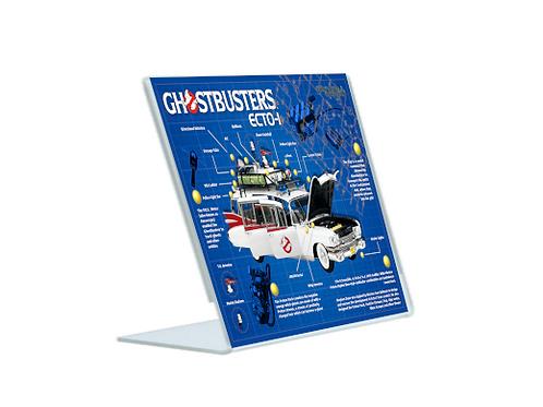 Ecto-1 - A5 Acrylic Blueprint