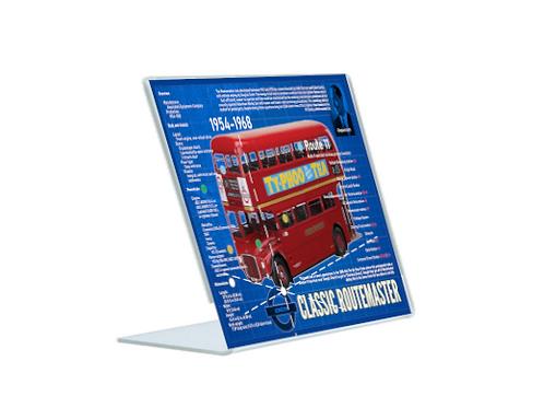 Routemaster - A5 Acrylic Blueprint