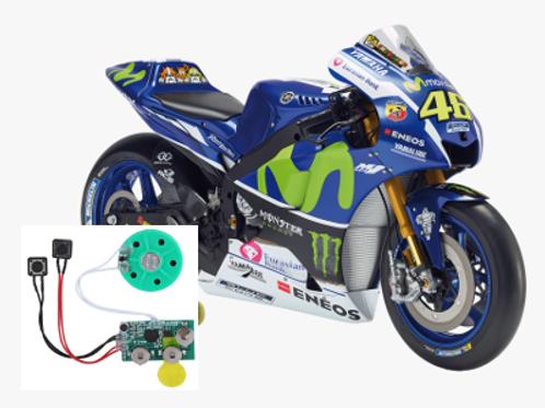 DeAgostini Valentino Rossi 1:4 Scale 2016 YZR-M1 Idle Sound Card