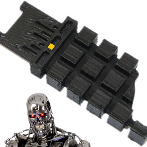 Terminator Neural Net CPU - Raw un-painted - Battle Damaged - Assembled