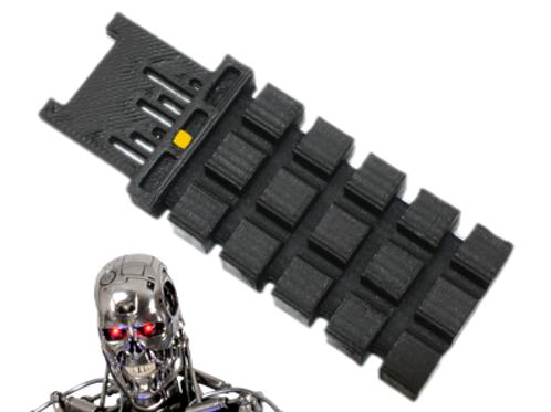 Terminator Neural Net CPU - Raw un-painted - Assembled