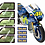 Thumbnail: AMAZING OFFER Valentino Rossi 1:4 Scale 2016 YZR-M1 Sticker\Decal Set