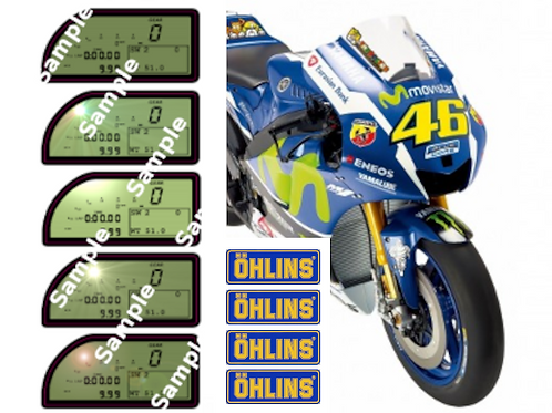 AMAZING OFFER Valentino Rossi 1:4 Scale 2016 YZR-M1 Sticker\Decal Set
