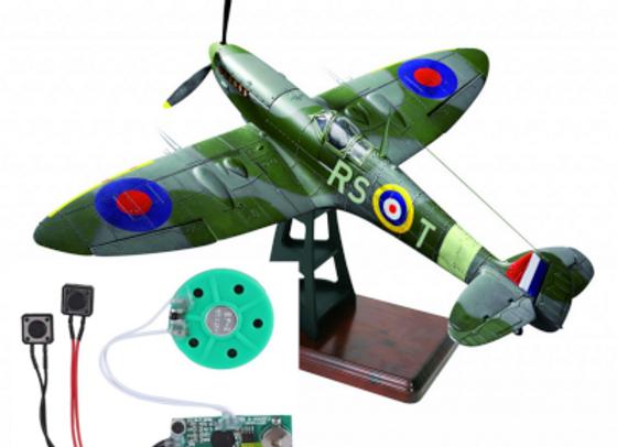 DeAgostini Model-Space Spitfire Mk Vb Engine Sound Card