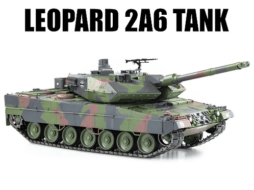 1/16 Scale - Leopard 2A6 Tank Camouflage Dust Cover