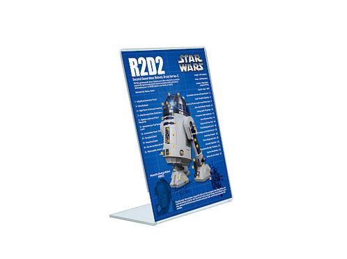 R2D2 - A5 Acrylic Blueprint