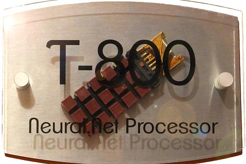 Amazing Custom Built T-800 CPU Wall Plaque !!