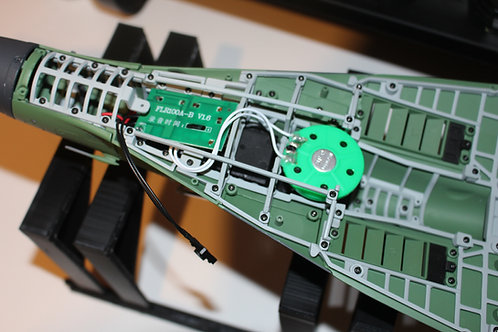 DeAgostini Model-Space MiG-29 Engine Sound Card