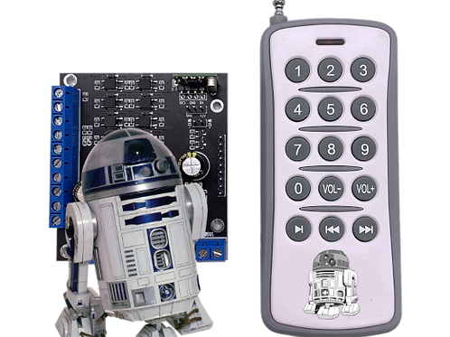 Star Wars R2D2 FX Sound Card - Ready to Go!
