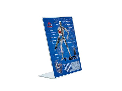 T-800 - A5 Acrylic Blueprint