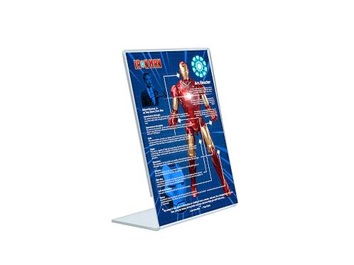 Ironman - A5 Acrylic Blueprint