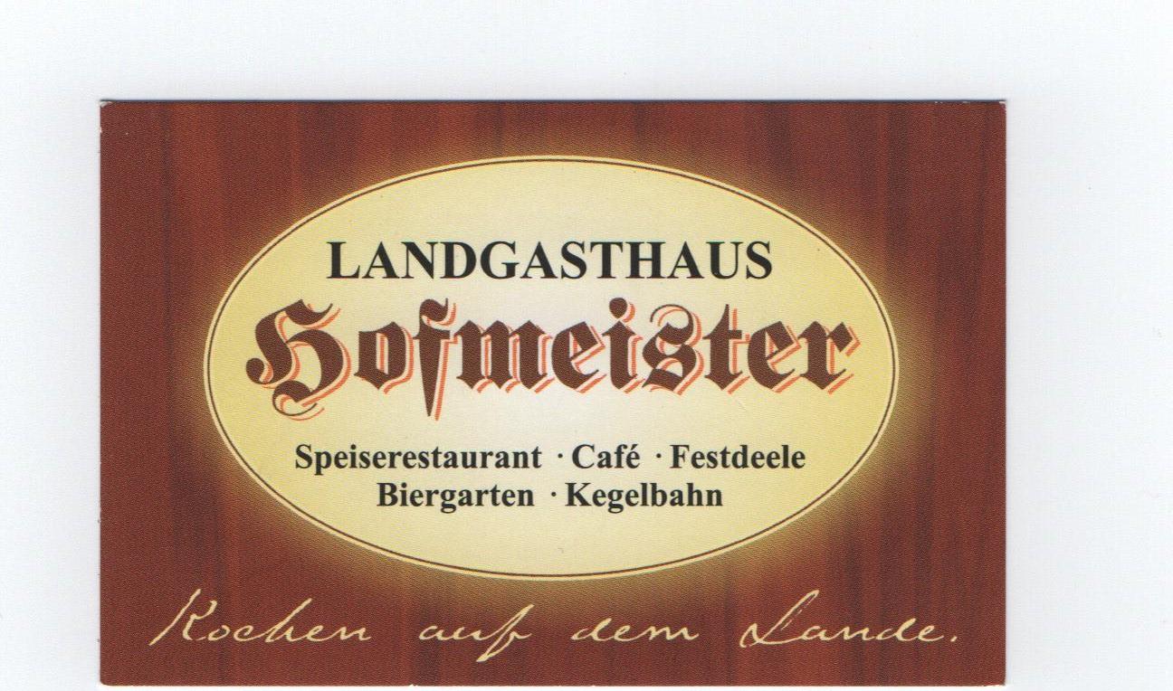 29 News Werbung Landgsthaus Hofmeister