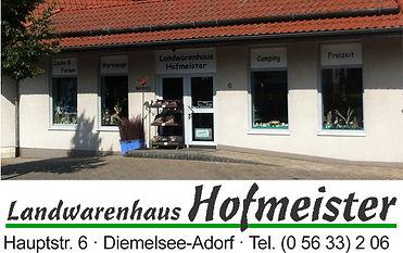16 News Werbung Landwarenhaus Hofmeister