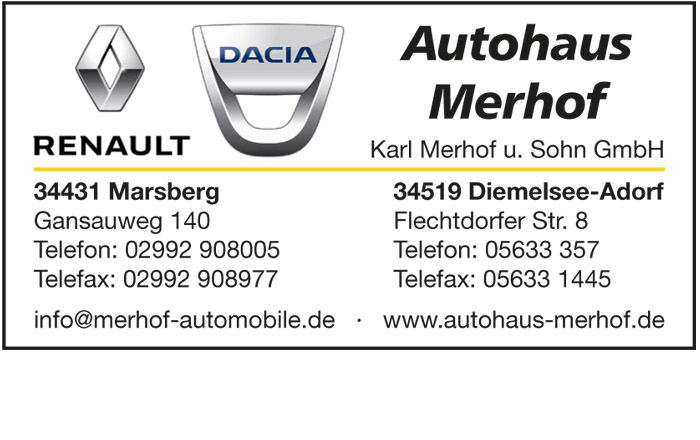 26 News Werbung Autohaus Merhof