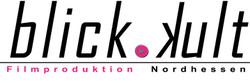 Blickkult Filmproduktion Logo mit Strich
