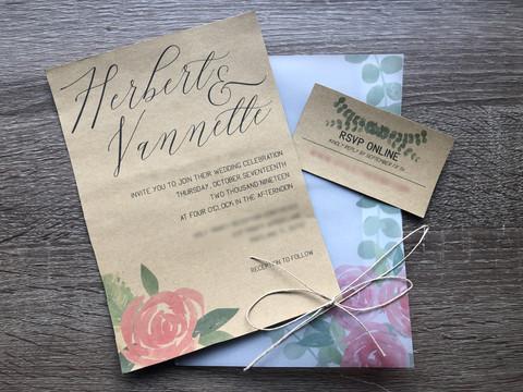 Invitation & RSVP Card
