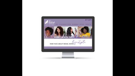Home Page Mockup