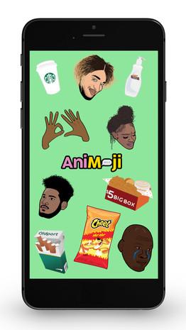 Emojis designed for AniMoji