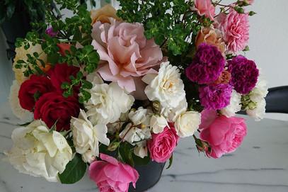 薔薇の花束ありがとう🌹
