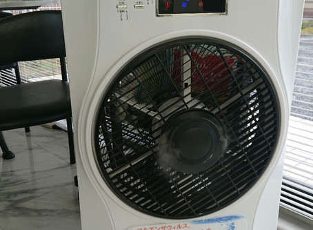 saverJINで空気を洗う