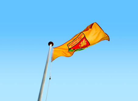Raising a new flag on a new season
