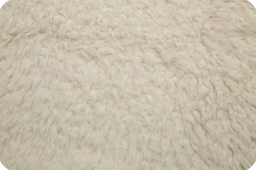 Llama Ivory Cuddle Minky