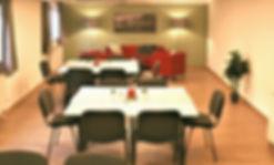 Mitarbeiterraum Firma Geiger für Pausen, Vorträge und Schulungen