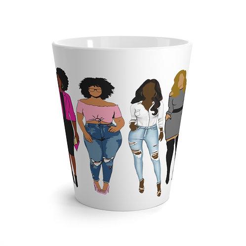 Fab Four - Latte mug