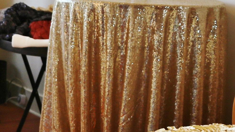 Sparkling Sequin Linen